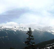 Upwards to Whistler  by iluvaar
