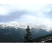 Upwards to Whistler  Photographic Print