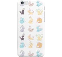 Eevee doodles iPhone Case/Skin