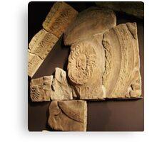 Roman Carvings, Bath, England - Uncaptioned Canvas Print