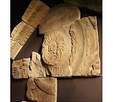Roman Carvings, Bath, England - Uncaptioned by Centauri4