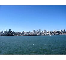The Bay Area, San Francisco  Photographic Print