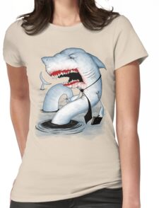 Business Shark Womens Fitted T-Shirt