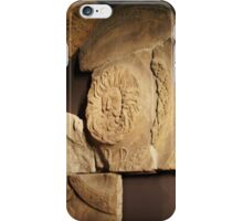 Roman Carvings, Bath, England - Uncaptioned iPhone Case/Skin