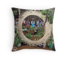 Shan village exorcism ritual, Mae Hong Son, Thailand Throw Pillow