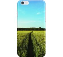 Countryside Run iPhone Case/Skin