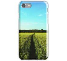 Countryside Run iPhone Case/Skin