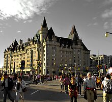 chateau laurier by JUZ3R