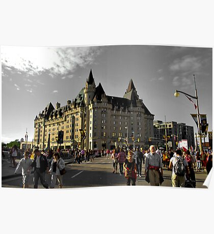 chateau laurier Poster