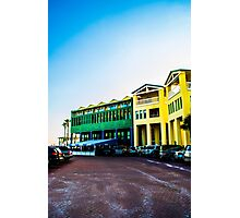 Colorful Buildings Photographic Print