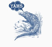 Thinking of yams funny crocodile alligator Unisex T-Shirt