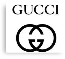 Gucci Canvas Print