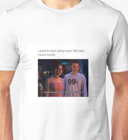 cancel my subscription Unisex T-Shirt