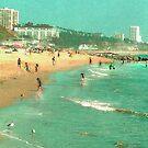 Beach days by Anne  McGinn