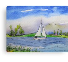 Holiday At The Sea Canvas Print