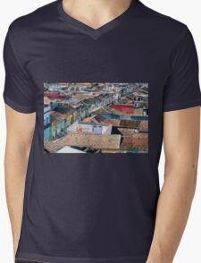 Cross town  Mens V-Neck T-Shirt