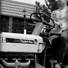 Canonsburg, PA: Drivin' Dad's Tractor by ACImaging