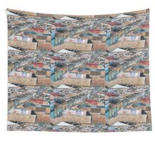 Cross town  Wall Tapestry
