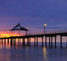 Brighton Jetty Sunset by joel Durbridge