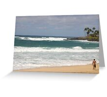 north shore Greeting Card