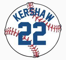 Clayton Kershaw Baseball Design by canossagraphics