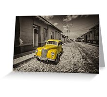 Yellow Prefect  Greeting Card
