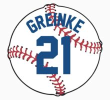 Zach Greinke Baseball Design by canossagraphics