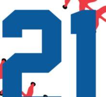 Zach Greinke Baseball Design Sticker