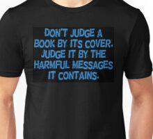 Don't Judge a Book Unisex T-Shirt