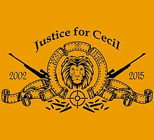 R.I.P. Cecil the lion by ervinderclan