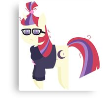 My Little Pony - Moondancer BBBFF (Song) Style Canvas Print