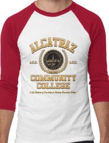 ALCATRAZ COMMUNITY COLLEGE Men's Baseball ¾ T-Shirt