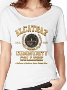 ALCATRAZ COMMUNITY COLLEGE Women's Relaxed Fit T-Shirt