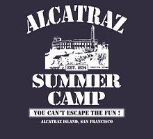 ALCATRAZ SUMMER CAMP wht Unisex T-Shirt