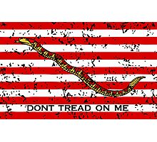 Navy Jack Flag Photographic Print