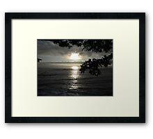 Sunset at the Cape Framed Print