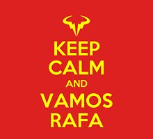 Keep Calm and Vamos Rafa Womens T-Shirt