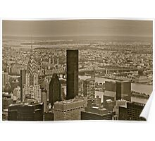 Chrysler Building And Beyond Poster