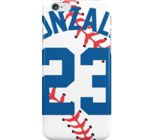 Adrian Gonzalez Baseball Design iPhone Case/Skin