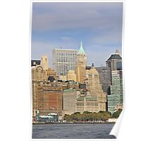 New York Financial District Poster
