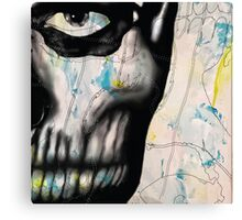 Rick Genest #2 Canvas Print
