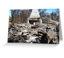 bushfires grampians Greeting Card