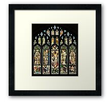 The East Window of Troutbeck Church, Cumbria Framed Print