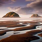 Sugar Loaf Islands, New Plymouth, NZ by Dean Mullin