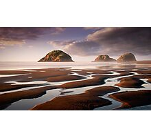 Sugar Loaf Islands, New Plymouth, NZ Photographic Print