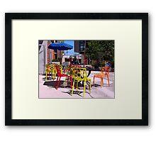 POP DIVERSITY Framed Print
