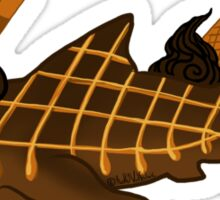 Caramel Drizzle Tiger Sticker