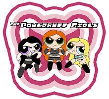 WWE Powerbuff Girls by annamacijeski