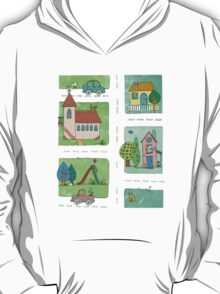 A Quiet Afternoon in Town T-Shirt