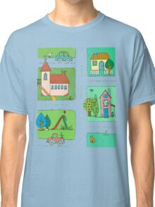 A Quiet Afternoon in Town Classic T-Shirt